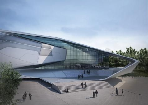 Chinese university of hong kong sports complex for Architectural design problems