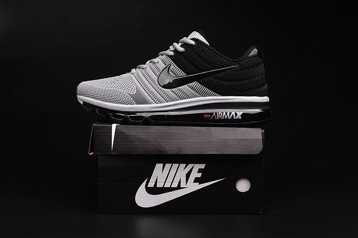 Nike Air Max 2017 Grey Black Men Shoes                                                                                                                                                                                 More