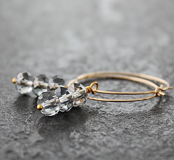 Swarovski Crystals and 14K Gold filled earrings.