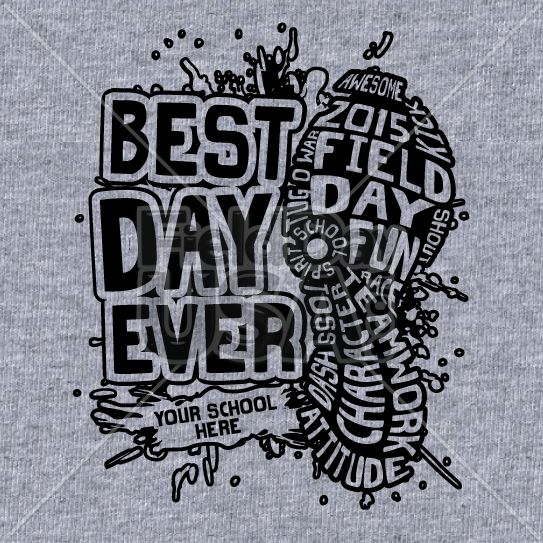 26 best Field Day Shirts- One Color Designs images on Pinterest