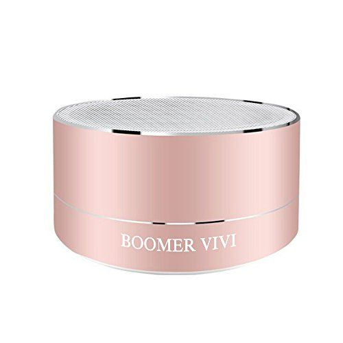 Updated Version Wireless Bluetooth Speakers B19-II With 5W Acoustic Drivers Portable Hi-Fi Speakers Up To 9 hrs Playtime With Surround Sound Outdoor Speakers For iPhone 7/7s/ Plus/6s Plus (Rose Gold) - http://topcellulardeals.com/?product=updated-version-wireless-bluetooth-speakers-b19-ii-with-5w-acoustic-drivers-portable-hi-fi-speakers-up-to-9-hrs-playtime-with-surround-sound-outdoor-speakers-for-iphone-77s-plus6s-plus-rose-gold