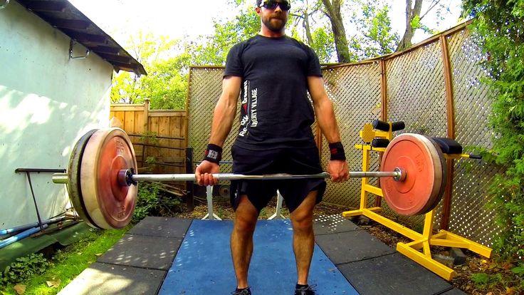 Homemade CrossFit Style Backyard Workout Setup (GoPro Canada)