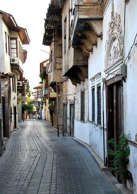 Street scenes in the kaleiçi, old quarter of Antalya, Turkey  http://www.sevgimustafaresmiwebsitesi.com/