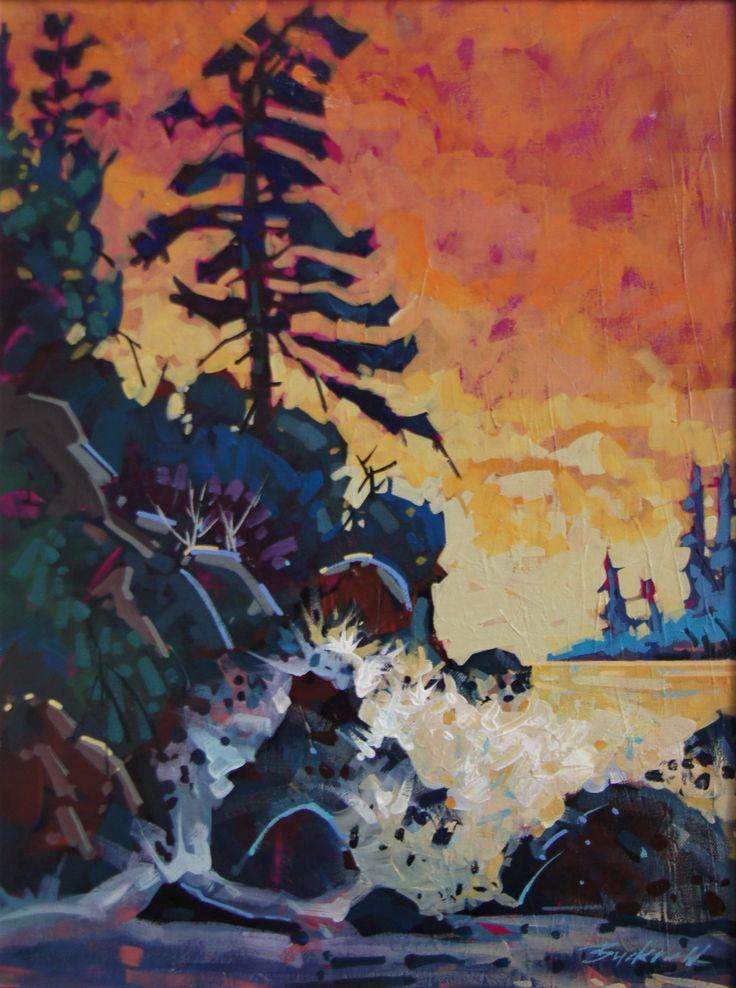 Tofino Beach Sunset Acrylic 18x24