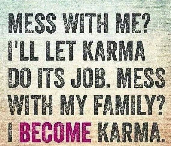 Quotes About Friendship And Karma : Quotes words of wisdom karma