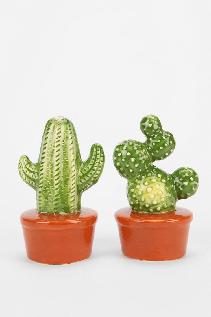 Magical Thinking Cactus Salt And Pepper Shaker - Set Of 2 #urbanoutfitters