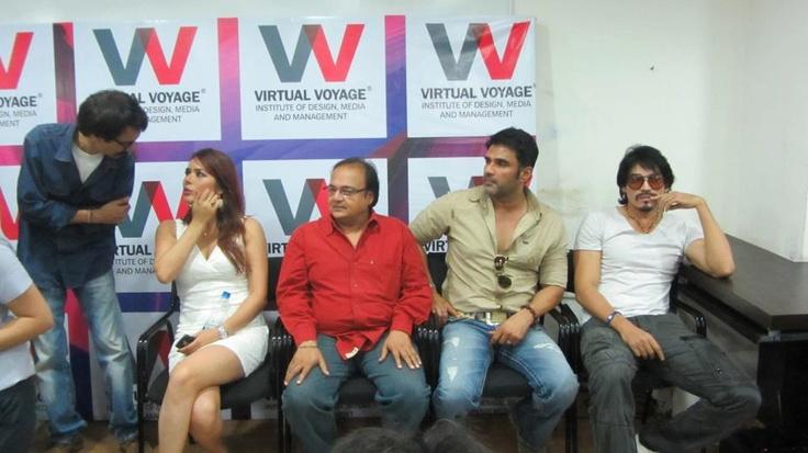 "Celebrities visit to VV for movie ""PICTURE ABHI BAKI HAI"" promotion."