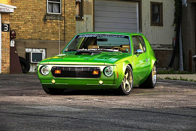 1974 Gremlin Car Believe it or not, this 1974 AMC Gremlin car started as a little old lady's ride. Today