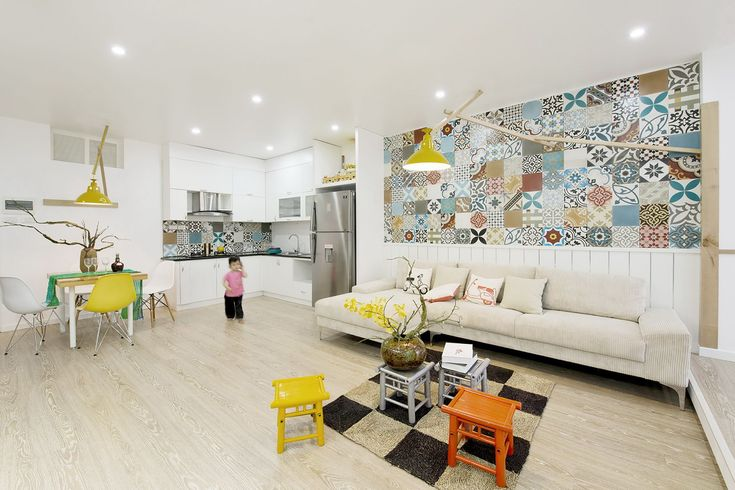 HT Apartment has been renovated by Landmak architect