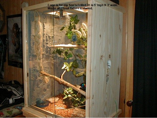 Chameleon Cage Plans Free Reptile Cages Plans Images