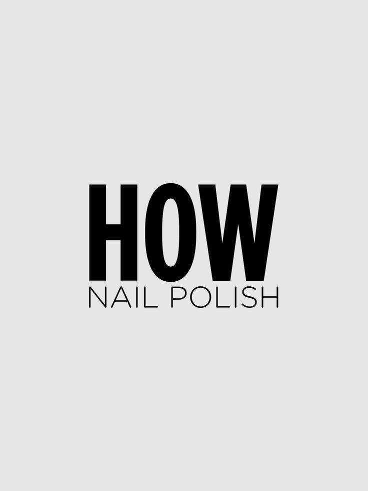 """A gel-like, treatment-enriched #NailPolish. Bringing together the """"Gel technology"""" with bold colors, this formula is smooth, glossy and easy to apply. The HOW nail polish is available in 10 glamour shades, from the white chalk to deep black. All the products are characterized by the 4-Free Formula: without formaldehyde, camphor, toluene and dbp.  Discover more on http://wemakeup.it/#HOW_nail_polish"""