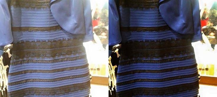 Anfang des Jahres hat die Farbe eines Kleides die ganze Welt beschäftigt. Caitlin McNeill postete das Bild auf einer Internetplattform, um Klarheit über die Farbe zu schaffen: Ist das Kleid nun blau-schwarz oder doch weiß-gold…