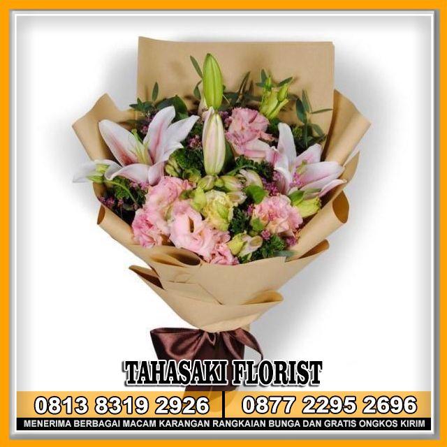 Buket Bunga Tulip Putih