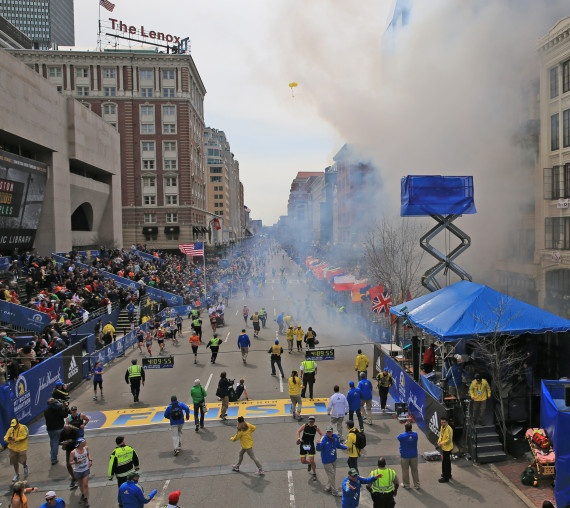 The bombing at the finish line of the Boston Marathon. Why in hell would they even consider the Olympics? It's a financial disaster for every city that takes it on.
