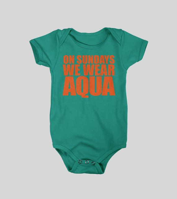 Dolphins Baby Onesie / Bodysuit  Newborn  24 Months  by WearPurdy