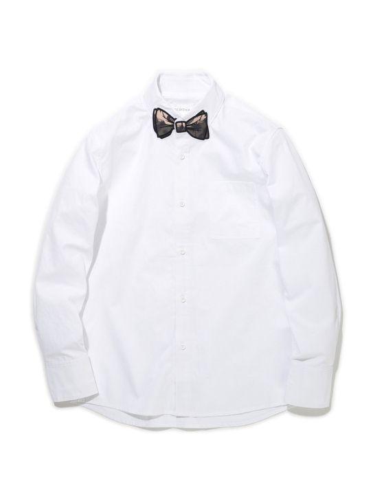 SUPERTHANKS定番のボウタイワッペンシリーズシャツです。今季のワッペン柄は、トロピカルデザインをオリジナルで作成しております。グラデーションカラーが春夏を感じさせてくれる爽やかな印象です。SUPERTHANKSらしいPOPな雰囲気を持った遊び心のあるアイテムです。結婚式の2次会やパーティーシーンでも着用いただけるのでオンオフ問わず着て頂けます。   QUALITY:  COTTON 100%        SIZE  肩幅  身幅  着丈  袖丈      S  43.5  51.5  71.5  59      M  44.5  53.5  73.5  60.5      L  45.5  55.5  75.5  62