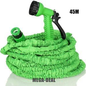 Mega-Deal Tuyau d'arrosage flexible et extensible Tuyau d'arrosage rétractable (45m) - Achat / Vente tuyau - buse - tête Mega-Deal Tuyau d'arrosage - Cdiscount