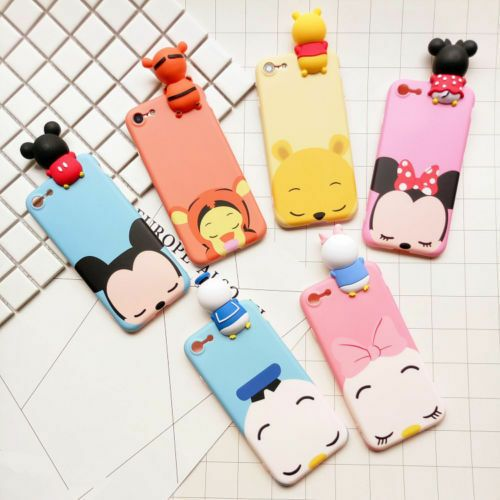 3D Doll Cartoon Squishy Soft Phone Case Cover For iPhone 6 6s 7 7Plus
