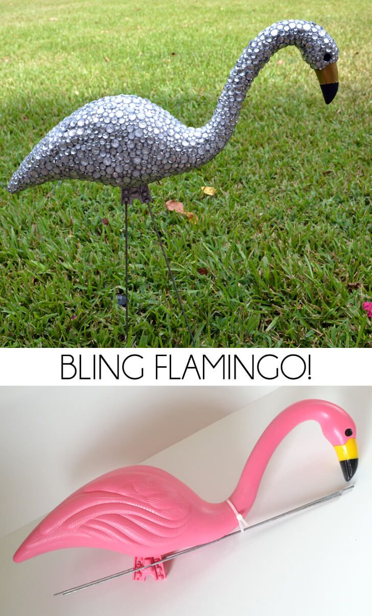 Unique lawn ornaments - Your Yard Is Missing These 8 Glittery Glitzy And Glam Diy Projects