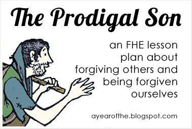 THE PRODIGAL SON free fhe lesson plan.: Church Stuff, Fhe Ideas, Lds Family, Fhe Lesosn, Fhe Lesson, Free Fhe, Prodigal Son
