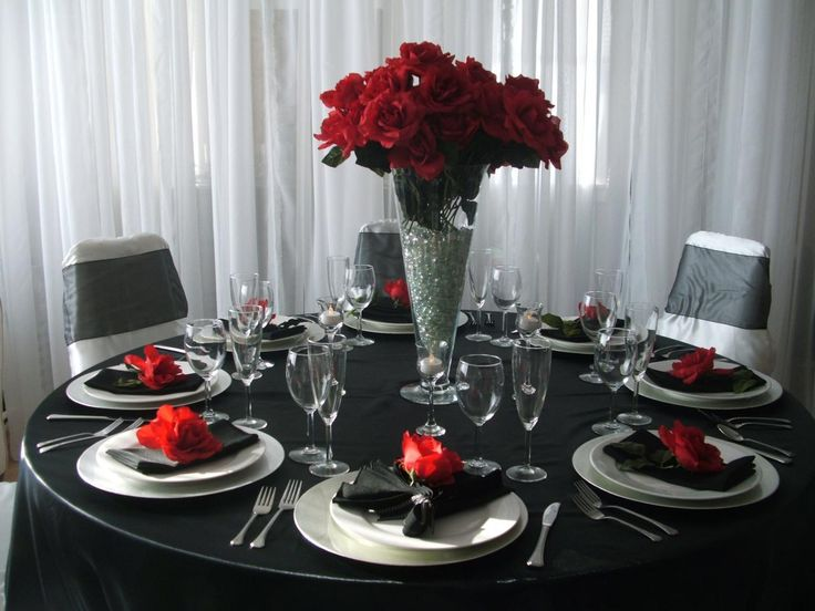 Google Image Result for //.royaltyfinelinens.com/yahoo_site_admin1/ : black and silver table settings - pezcame.com