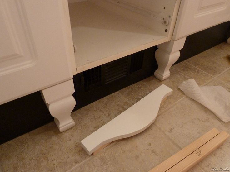 15 best images about kitchen decorative toe kicks on for Kitchen cabinets with legs