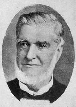 Henry Clarke (1822-1907), by unknown photographer