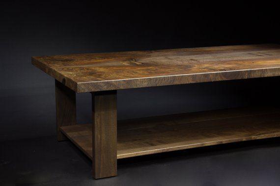 Walnut Coffee Table Black Walnut Bookmatch Table Mirror Table