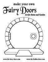 The hidden door make your own fairy pinterest for Fairy doors to make