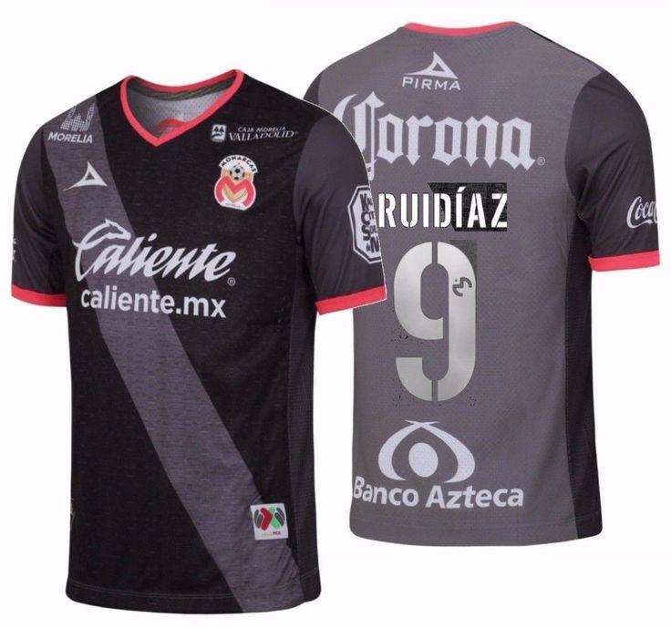 PIRMA RAUL RUIDIAZ MONARCAS MORELIA THIRD JERSEY 2016/17.