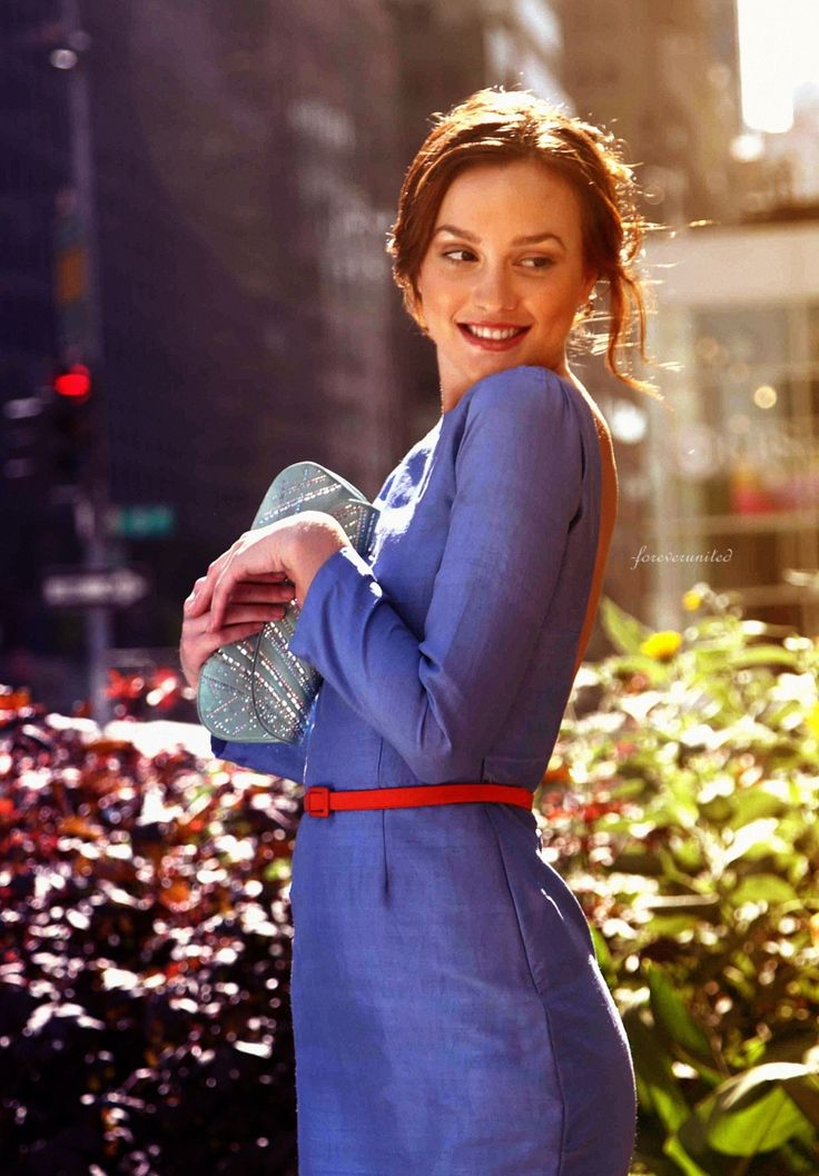Leighton Meester Portrays The Character Of Blair Waldorf In The Episode