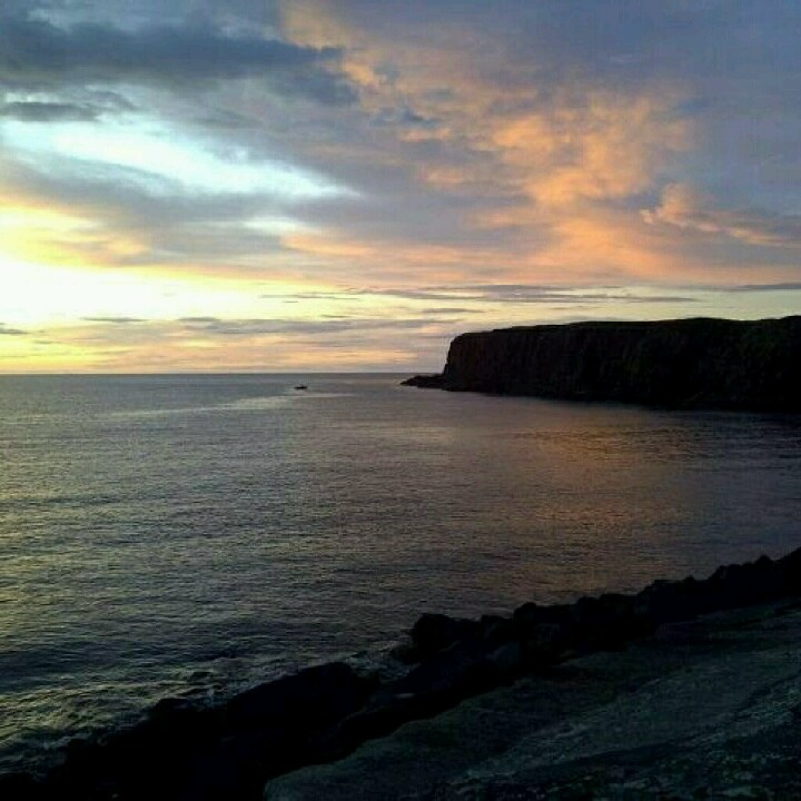 North Coast Sunset as seen from Portrush, Northern Ireland