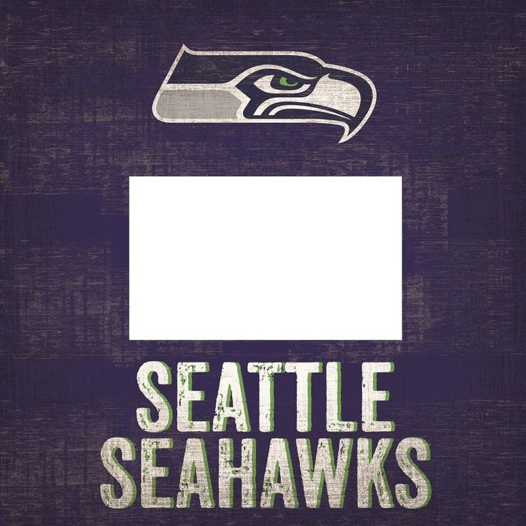 "NFL Seattle Seahawks 10"" x 10"" Picture Frame Sign"