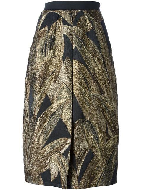 Nineminutes Brocade Skirt - Al Duca D'aosta - Farfetch.com