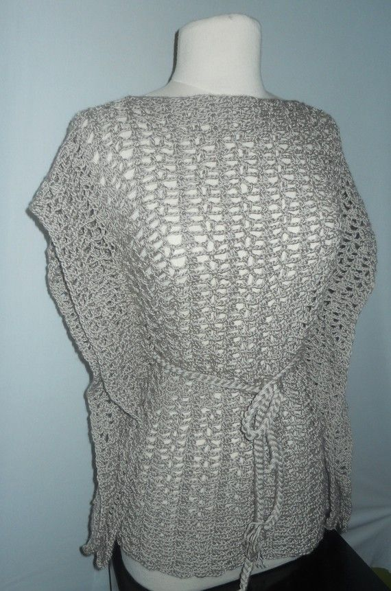 Crochet Lace Top Crochet Kimono Pattern Crochet Plus by GuChet