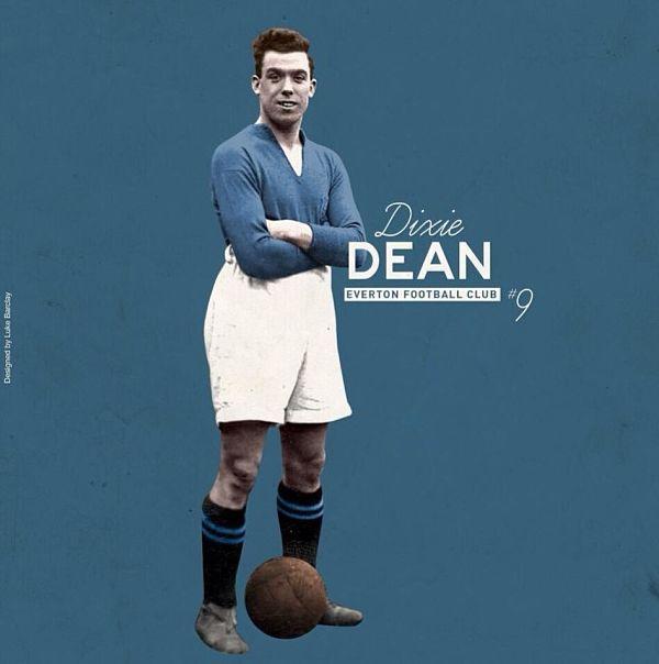 William Ralph Dean, gran goleador ingles.