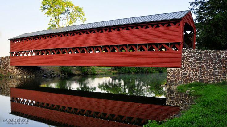 Sachs Covered Bridge Gettysburg Pennsylvania