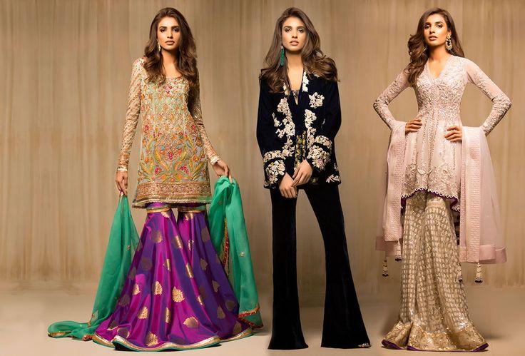Stylish Pakistani Party Wear Dresses 2017 For Girls