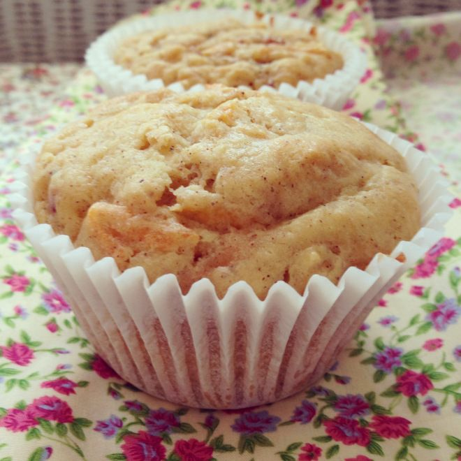 carrot apple & yoghurt muffins. The batter tastes great!