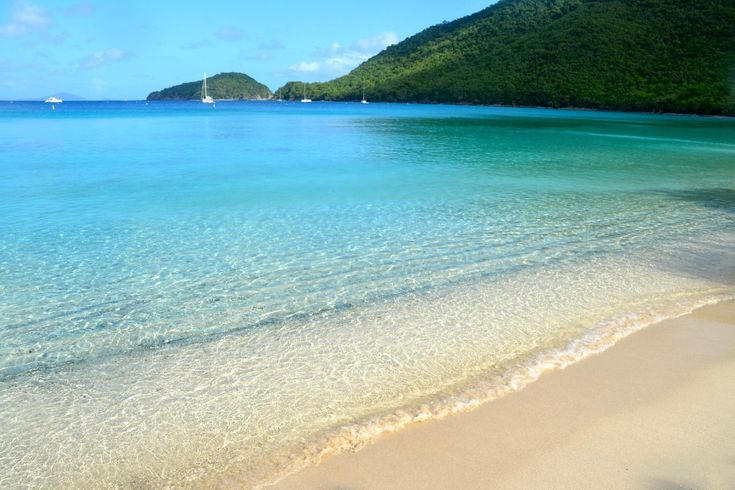 Francis Bay, île Saint John, îles vierges des Etats-Unis, Caraïbes