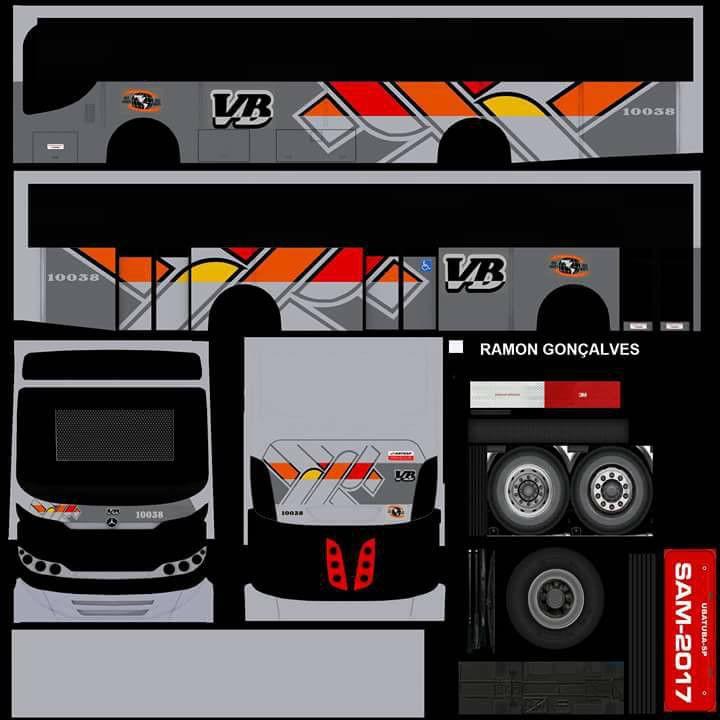 Proton Bus Stiker Mobil Mobil Stiker