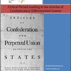 The Critical Period Leading to the Articles of Confederation Lesson Plan uses ability levels to differentiate instruction. It is based on the NYS 7...