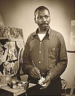 Table of Four: Homeschool Art Lesson on Jacob Lawrence