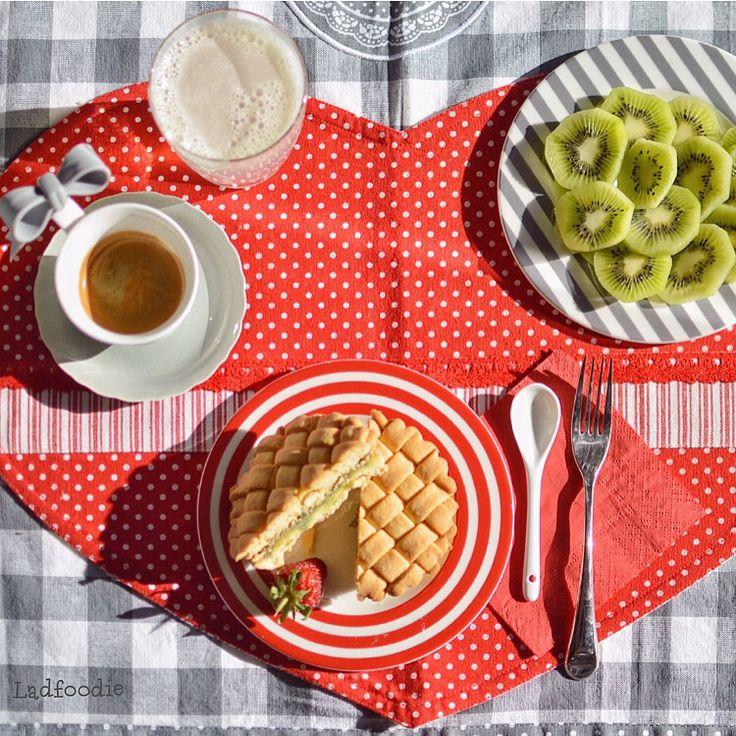 My #breakfast #home #ladfoodie