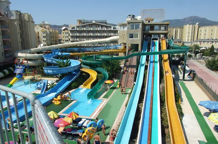 Atlantis Waterpark, Marmaris, Turkey