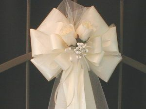 making bows for church pews - Google Search