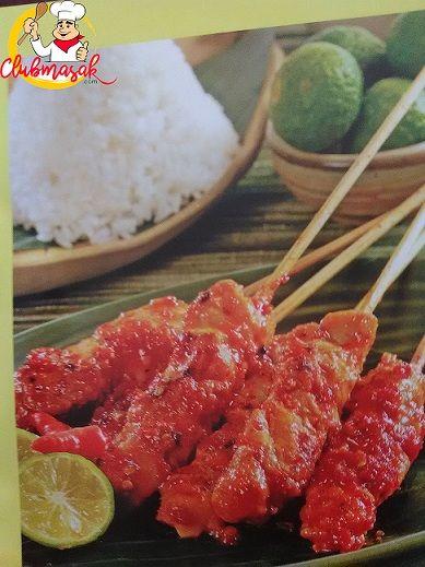 Resep Sajian Sate Ayam Bumbu Rujak, Bumbu Sate, Club Masak