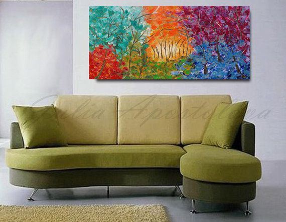 #Multicolor #Etsy #art #abstract #forestpainting #abstractart #autumnpainting #treepainting #abstractpainting #originalart #aoriginalpainting #hugepainting #hugewalldecor #largepainting #largeart #wallart #wallartdecor #homedecor #juliaapostolova