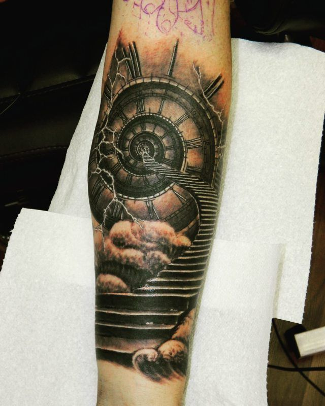How To Make Money To Travel Temping: 17 Best Ideas About Clock Tattoo Design On Pinterest