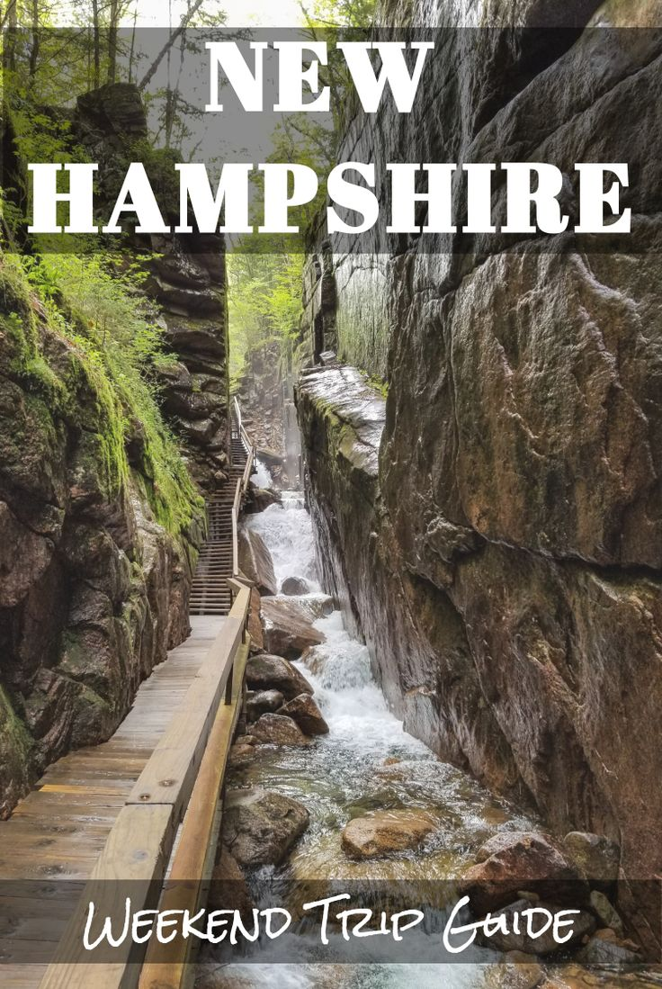 New Hampshire | White Mountains | The Flume Gorge | Franconia | Things to do in New Hampshire | Hike New Hampshire